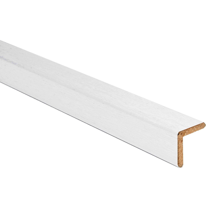 Paraspigolo in ayous liscio laccato bianco 35 mm x 35 mm acquista da OBI