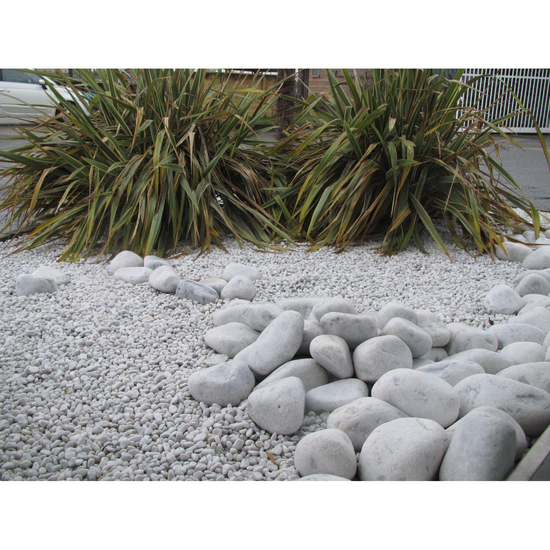pietre bianche per aiuole