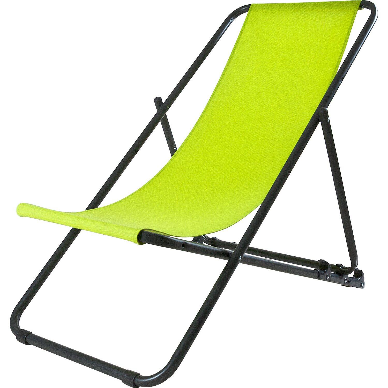 Sdraio In Plastica Verde.Stiliac Telo Ricambio Per Sdraio Rio E Swing Verde