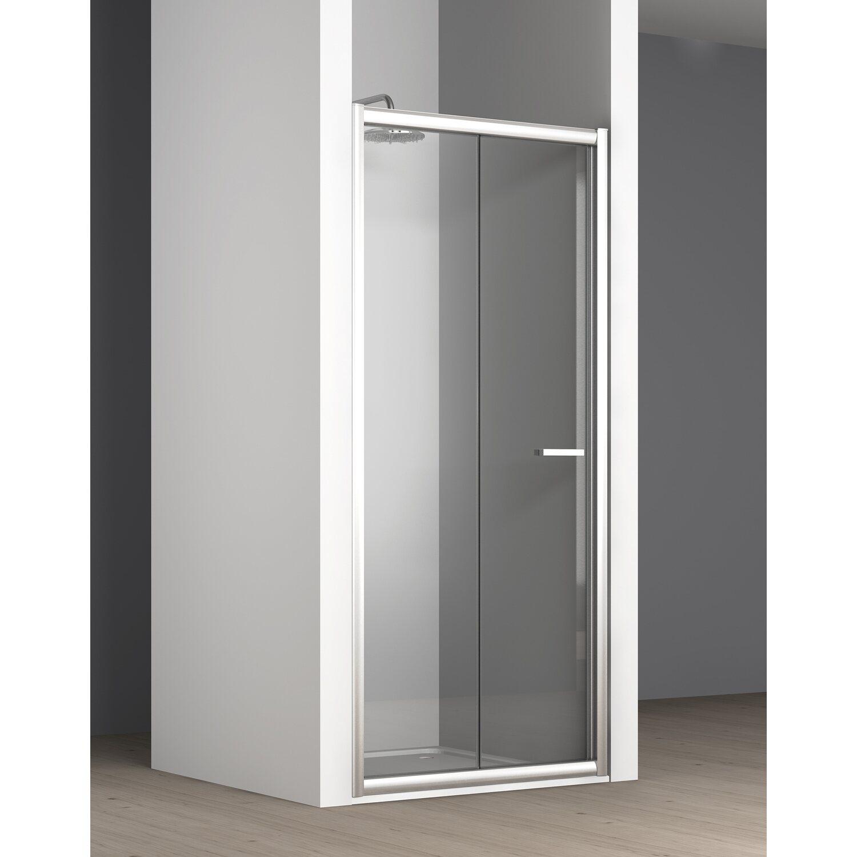 Porta doccia a soffietto tekno 67 73 cm acquista da obi for Leroy merlin porte a libro