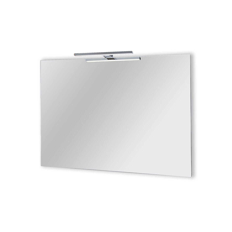 Specchio a filo lucido cerboli con illuminazione led 100 - Specchio con illuminazione led ...