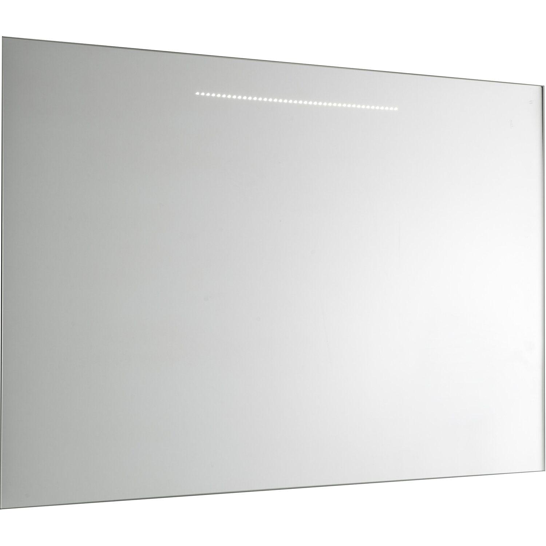 Specchio a filo lucido giglio con illuminazione led 90 cm for Specchio da parete 180 cm