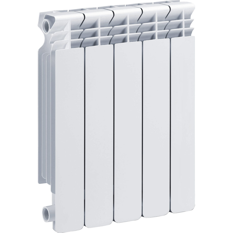Radiatori In Alluminio O Acciaio radiatore helyos in alluminio interasse 50 cm 5 elementi bianco
