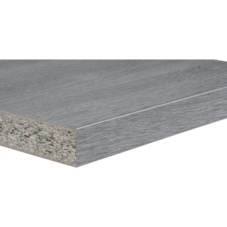 Top cucina rovere grigio 3050 mm x 600 mm x 38 mm acquista da OBI