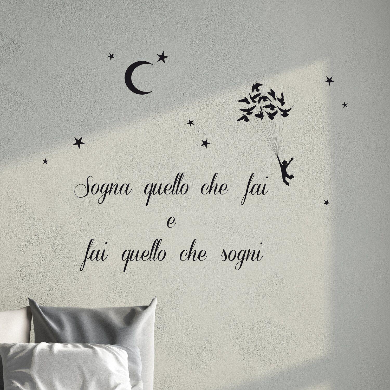 Decorazioni adesive per parete sogna acquista da obi for Decorazioni da parete adesive