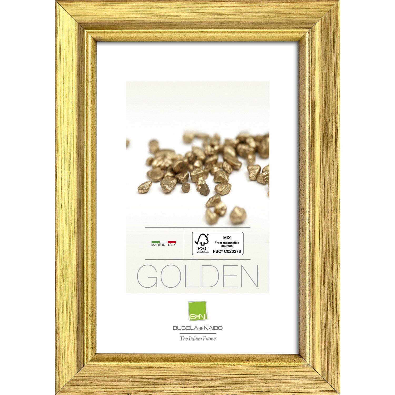 Cornice marisa colore oro 40 cm x 50 cm acquista da obi for Cornice 50x70 brico