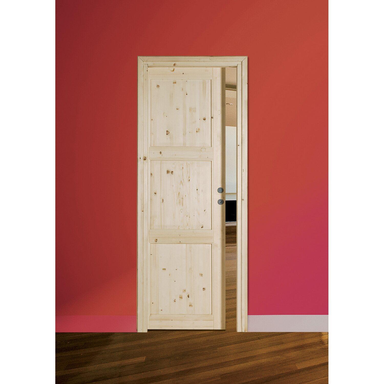 Porta scorrevole in abete grezzo 210 cm x 80 cm acquista da OBI