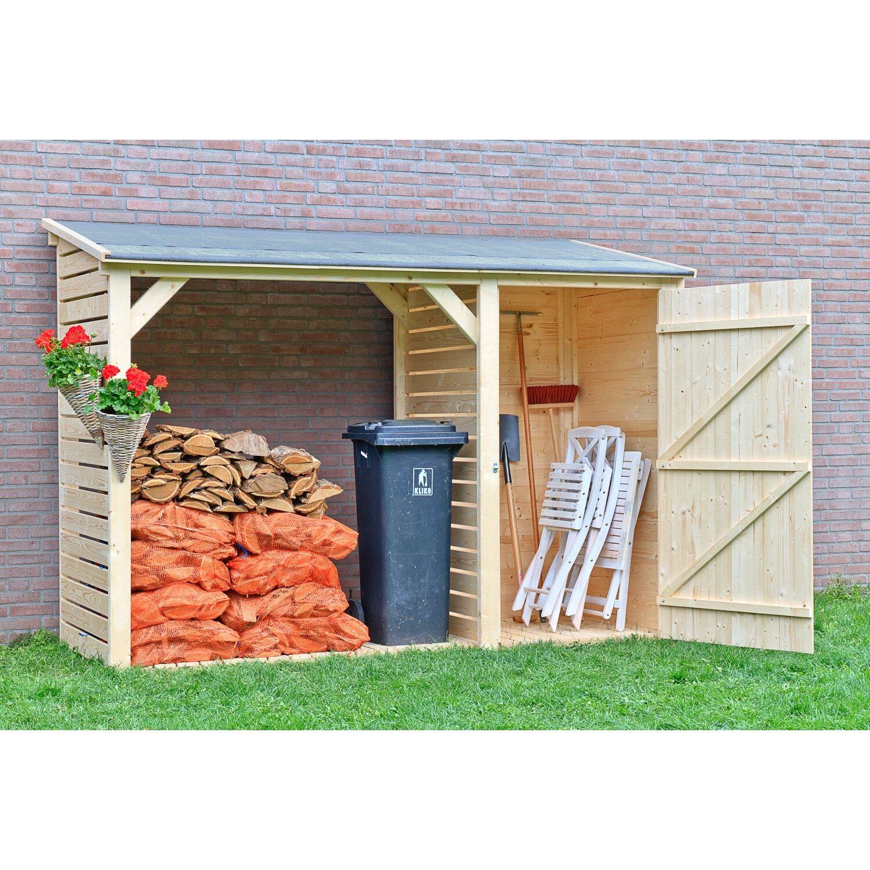Rastrelleria per legno con armadio acquista da obi for Casette in legno obi