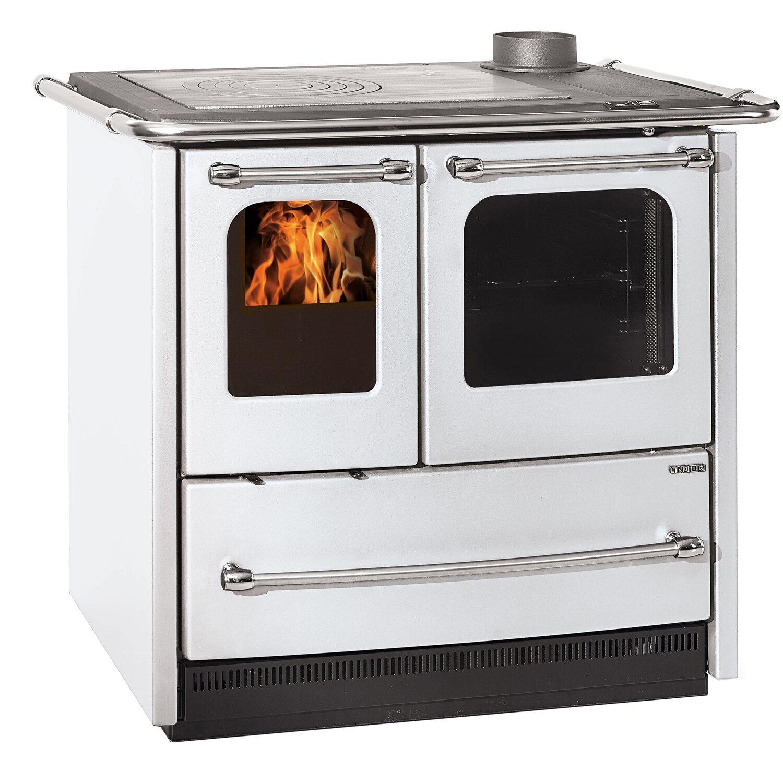 La nordica cucina a legna sovrana easy bianco acquista da obi - Stufe a legna nordica prezzi ...
