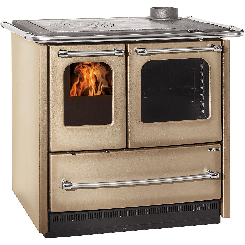 La nordica cucina a legna sovrana easy cappuccino acquista - Stufe a legna per riscaldamento ...