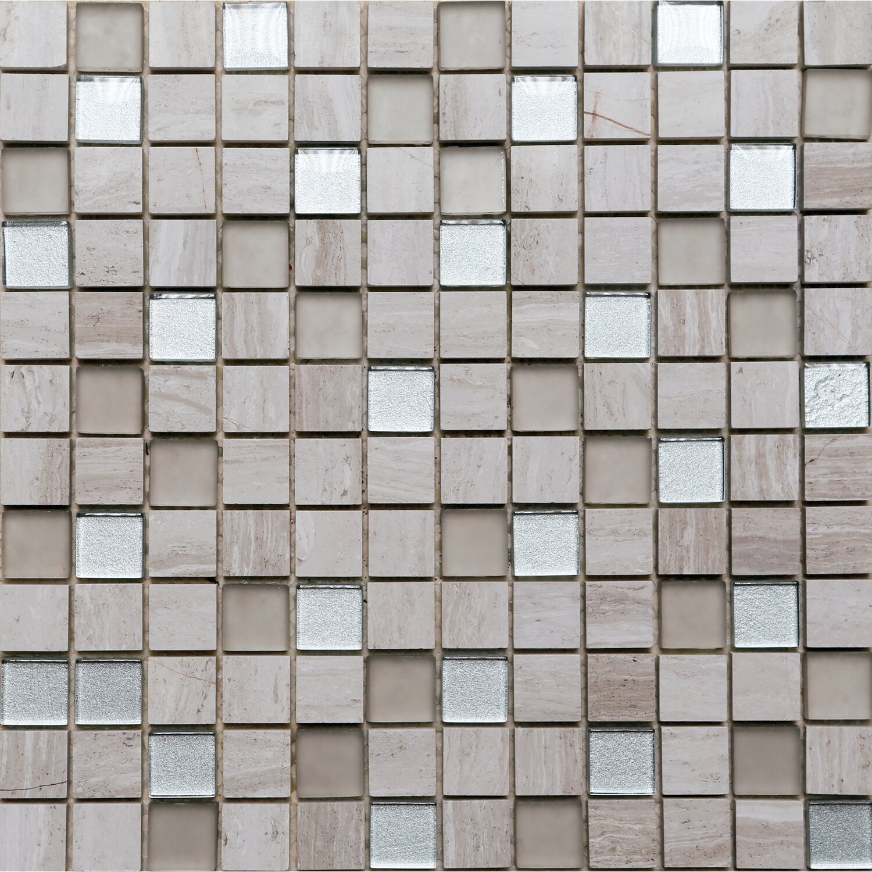Mosaico decorativo Robistone 30 cm x 30 cm