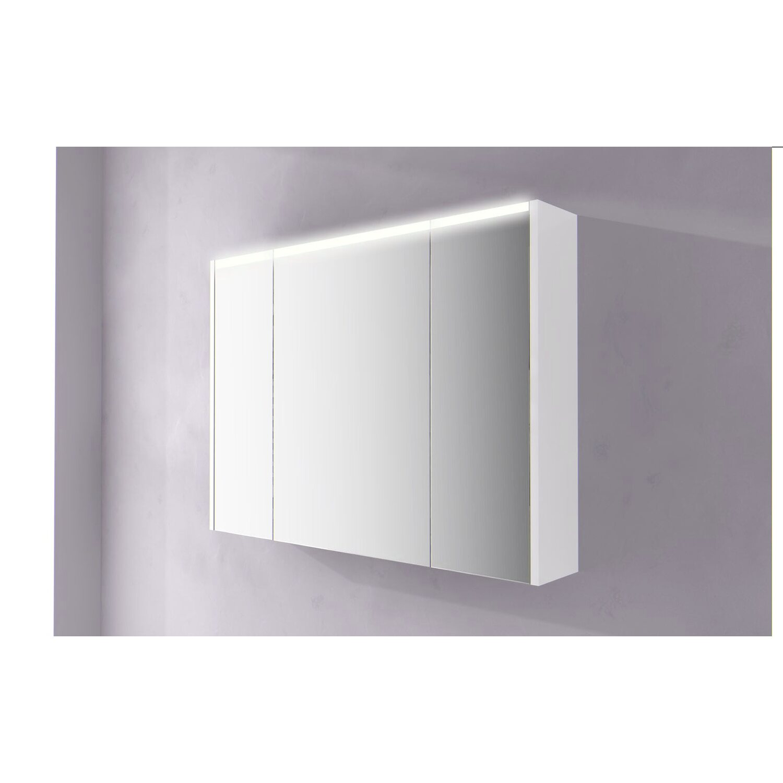 Specchio contenitore con led 92 cm x 67 cm acquista da OBI