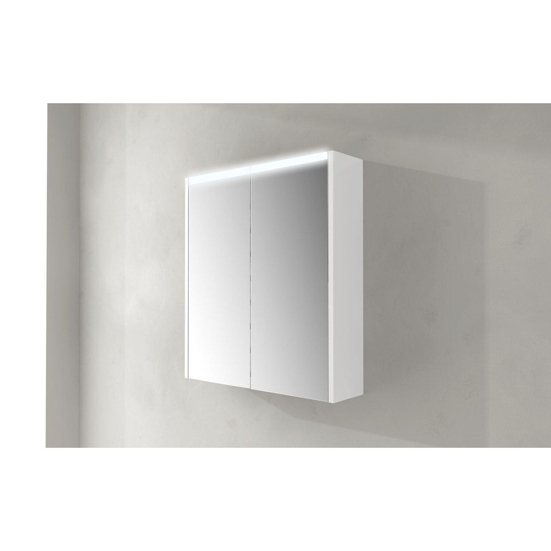 Specchio contenitore con led 60 cm x 67 cm acquista da OBI