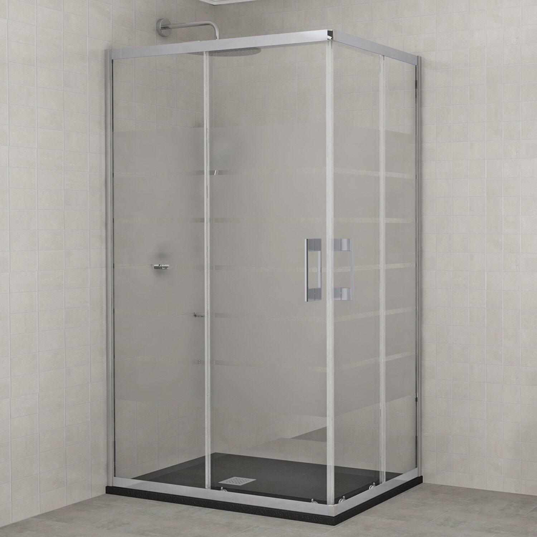 Box doccia rettangolare milano 90 cm x 70 cm x 195 cm for Box doccia obi