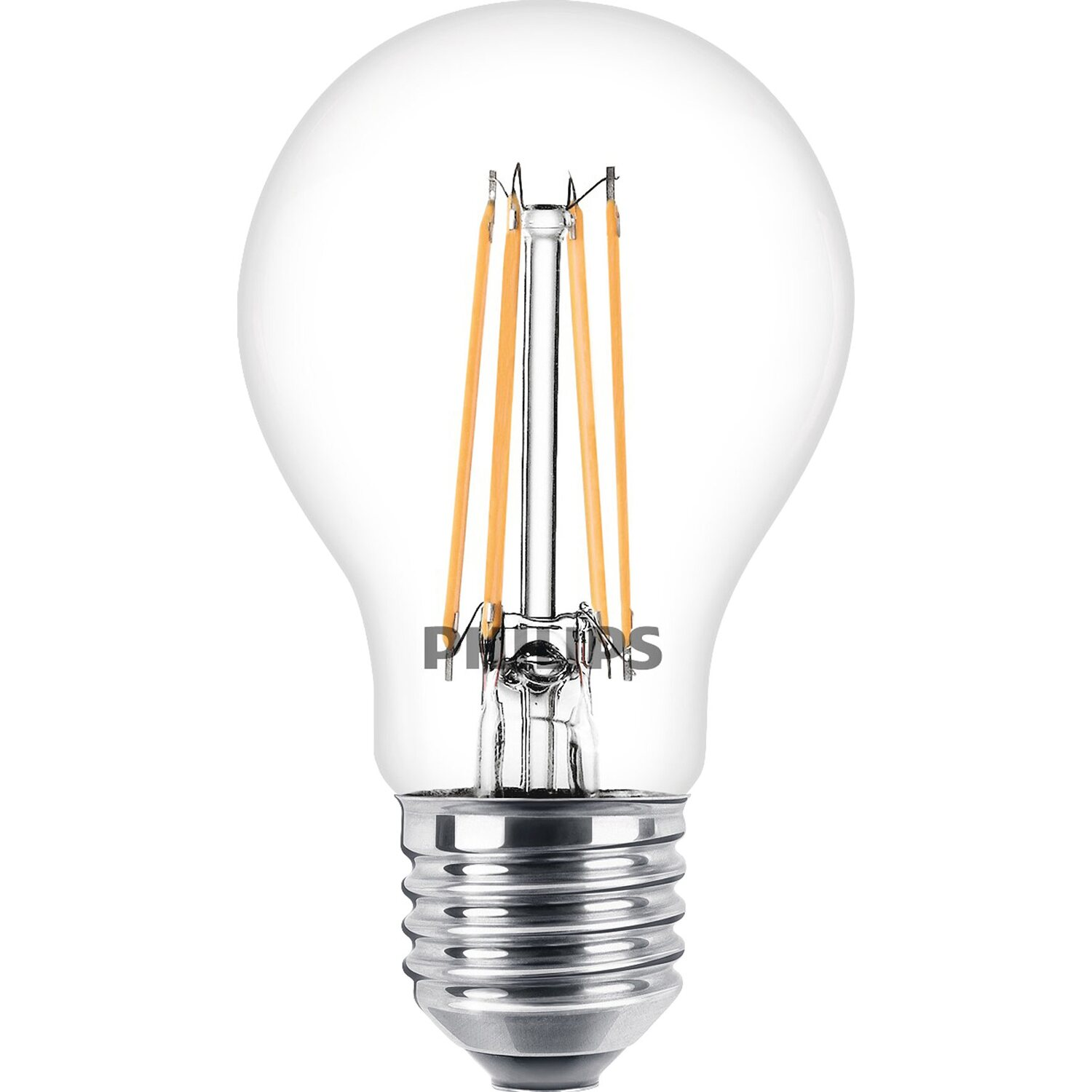 Philips lampadina led gocia filamento a 6 w e27 bianco for Lampadine a filamento led