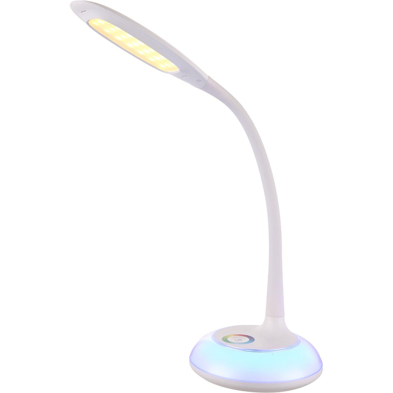 Lampada da scrivania led flessibile drina con rgb acquista for Lampade tonde da tavolo