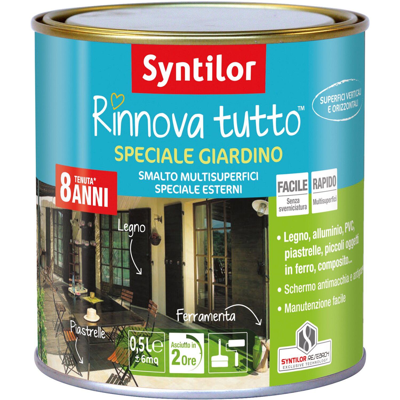 Smalto all acqua speciale per giardino effetto azzurro - Syntilor rinnova tutto speciale mobili ...