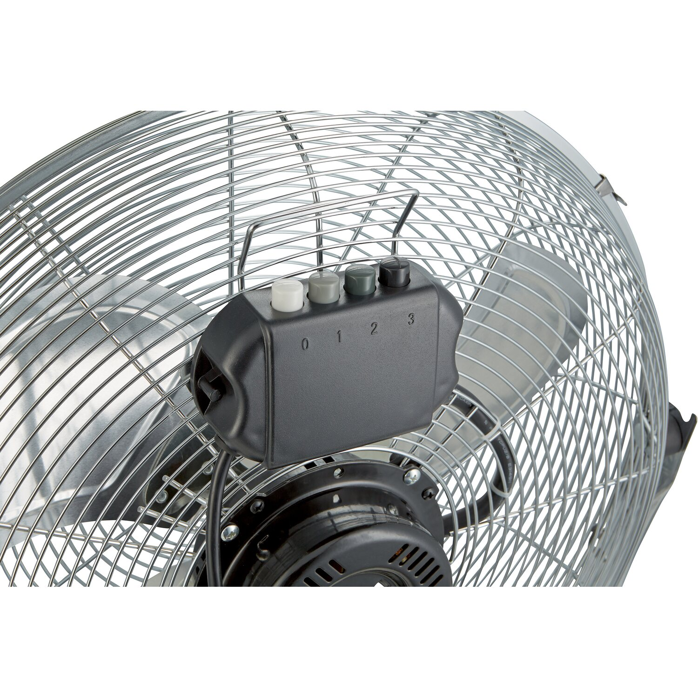 Obi ventilatore da terra cromato 45 cm acquista da obi for Ventilatori da soffitto obi