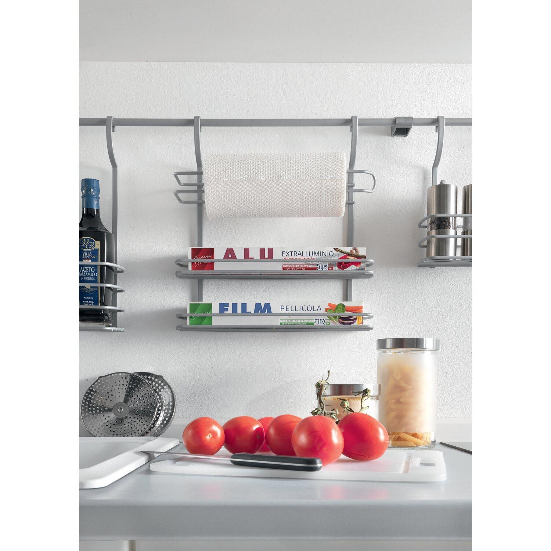 Mensola porta rotoli cucina linea city frost trattamento - Mensola porta piatti ...