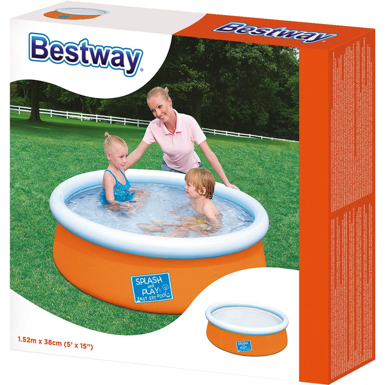 Bestway la mia prima piscina fast set 152 cm x 38 cm for Bestway obi