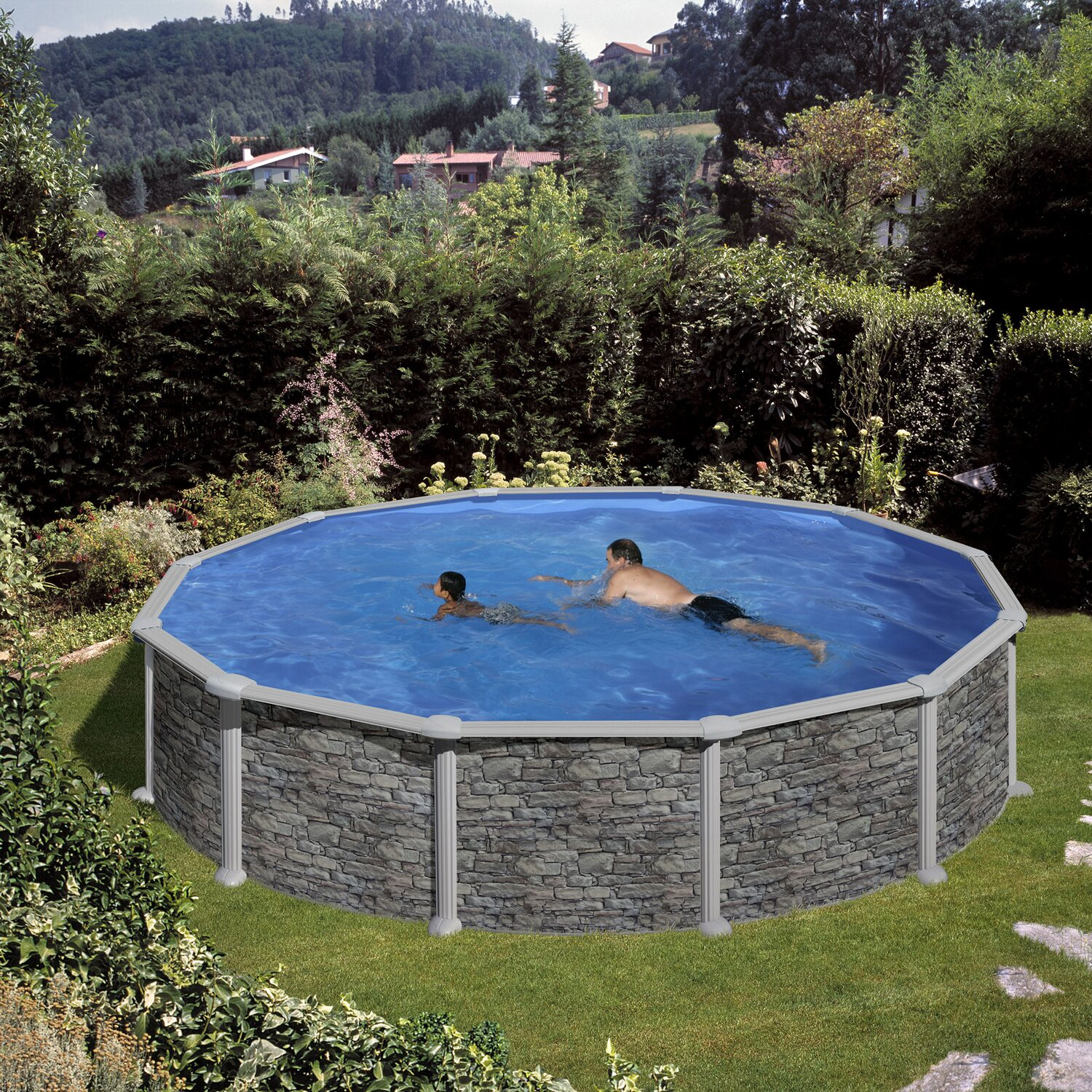Gre piscine italia simple un autre modle de chez piscine for Bestway pool obi