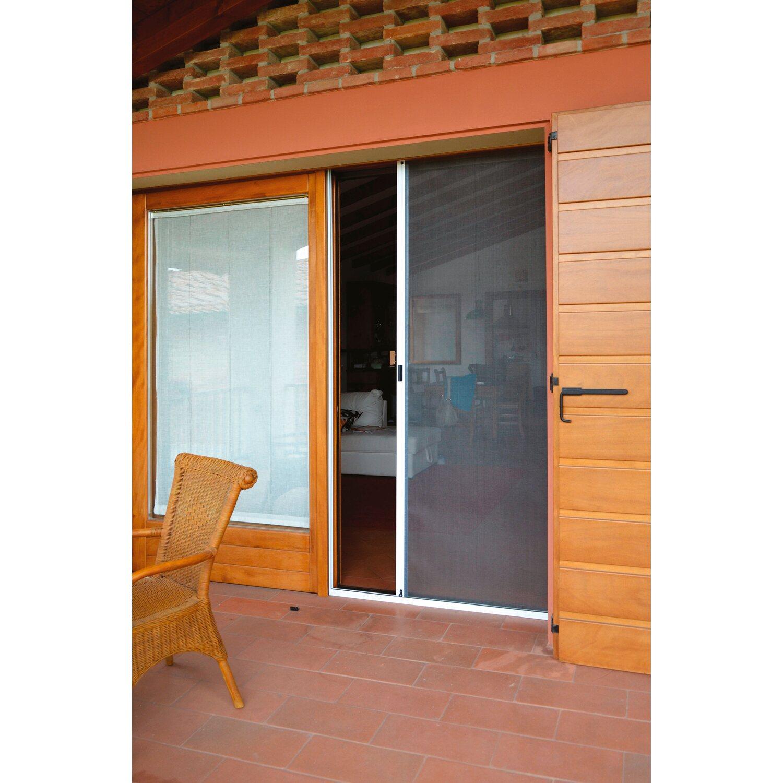 Zanzariera a rullo orizzontale per porta 130 cm x 230 cm - Zanzariera porta finestra prezzo ...