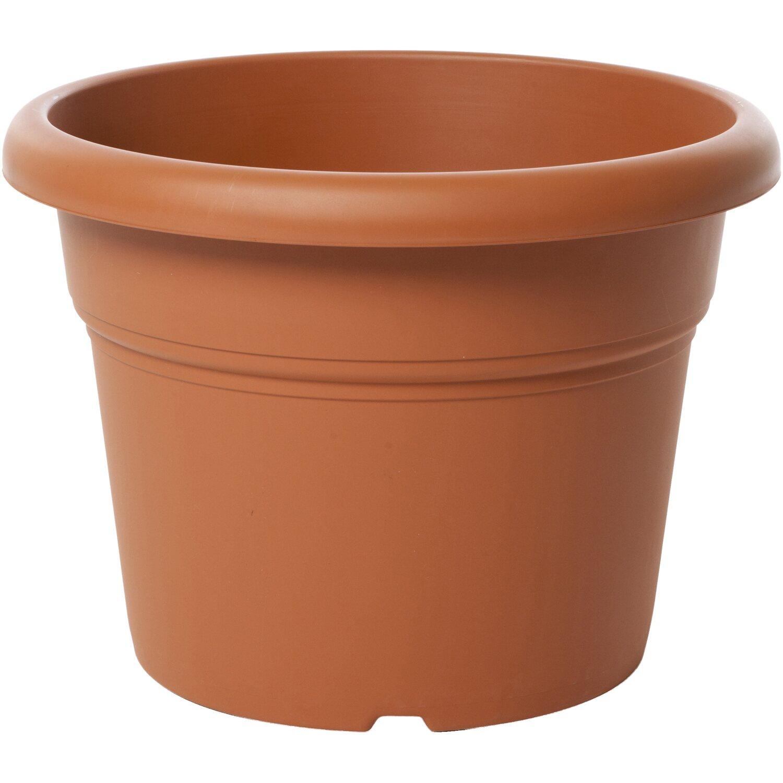 Vaso cilindro unica 45 cm colore terracotta light acquista for Vasi in terracotta da giardino prezzo