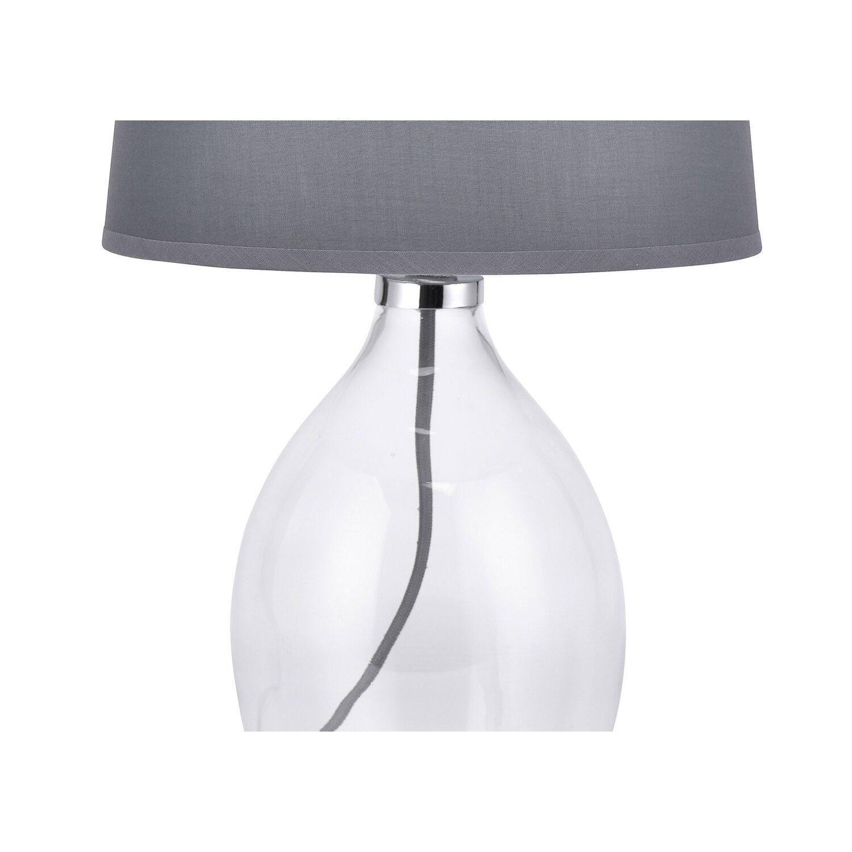 Leuchten direkt lampada da tavolo in vetro con paralume in - Lampade da tavolo in vetro ...