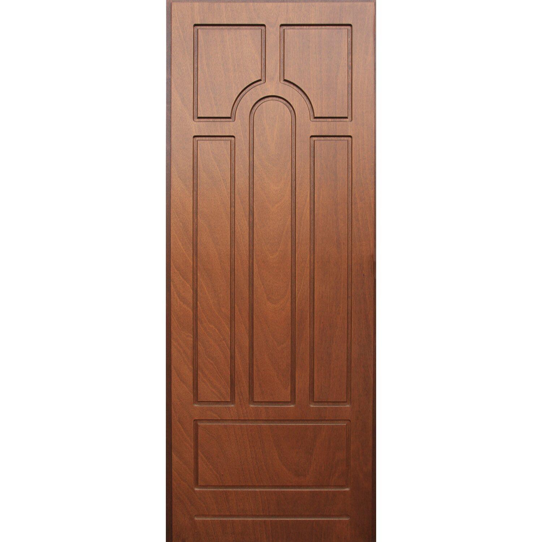 Pannello per porta blindata noce medio acquista da obi for Porte interne da obi prezzi