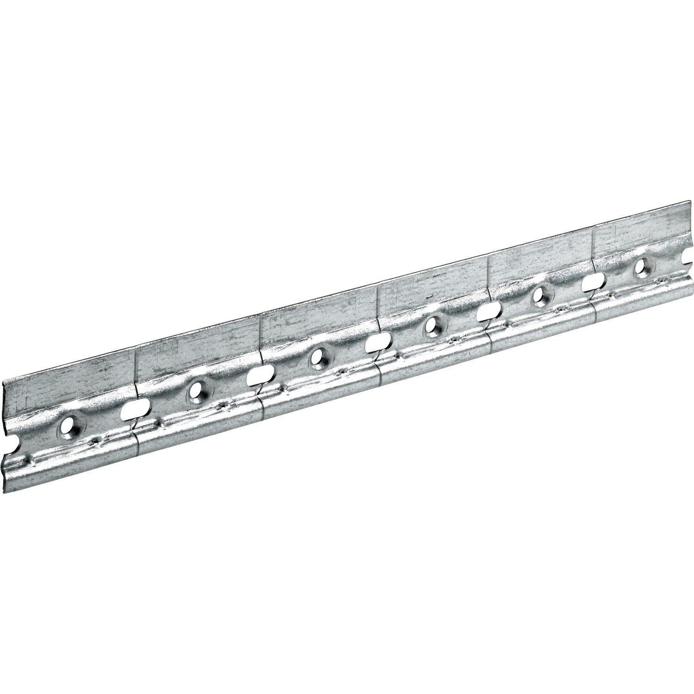 Binario Pensili Cucina Ikea barra reggipensili in acciaio zincato con portata 70 kg