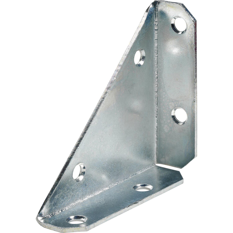 Giunto angolare in acciaio zincato 50 mm x 50 mm x 70 mm for Angolari leroy merlin