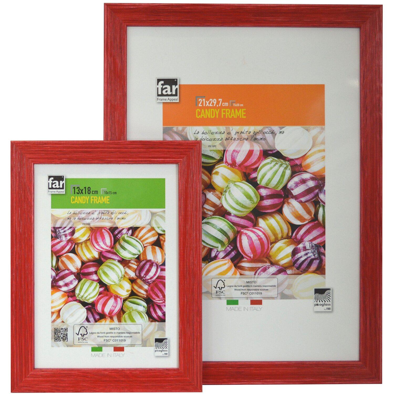 Cornici Colorate Per Foto portafoto newman rossa 13 cm x 18 cm