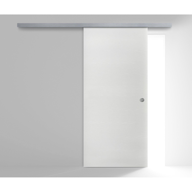 Porta scorrevole esterna reversibile aspen bianco frassino - Porta da interno scorrevole esterna ...