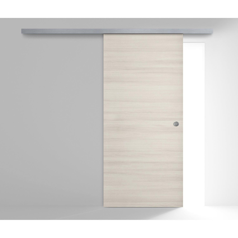 Porta scorrevole esterna reversibile aspen olmo white 210 - Porta da interno scorrevole esterna ...