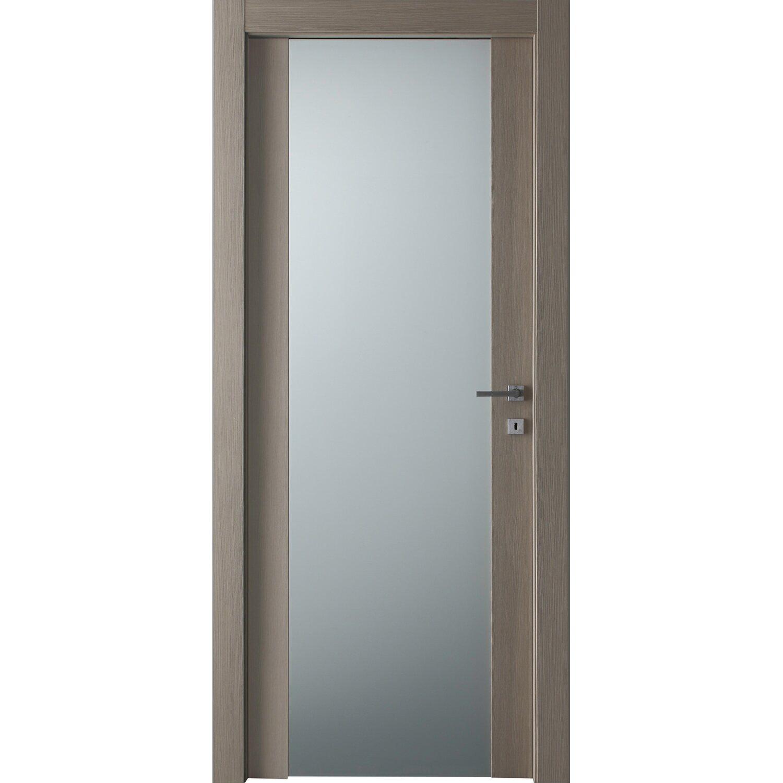 porta battente vetrata reversibile manaslu larice sabbia