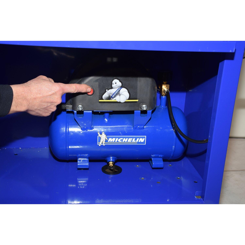 Michelin carrello porta attrezzi con compressore d aria - Carrello porta bombola ossigeno portatile ...