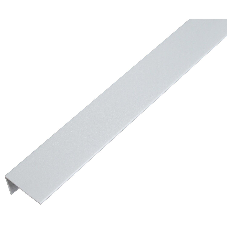 Profilo angolare in PVC alluminio grigio 25 mm x 15 mm x 1000 mm ...