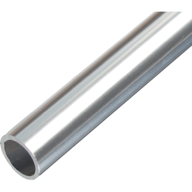 Tubo tondo in alluminio cromato 8 mm x 1000 mm acquista da obi - Diametro tubo multistrato per bagno ...