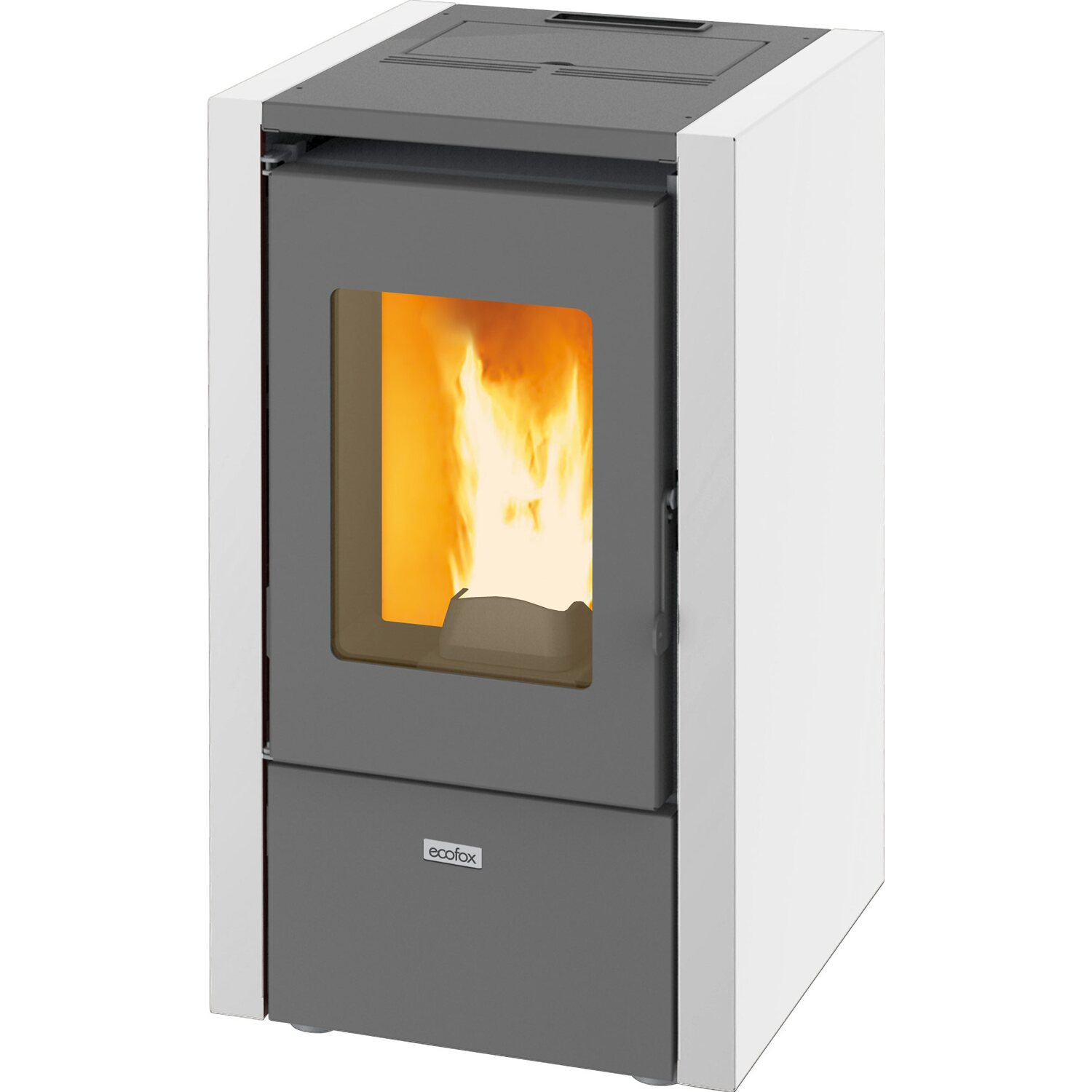 Stufa pallet awesome stufe a pellet 8 kw pictures skilifts us - Stufa a pellet a incasso ...