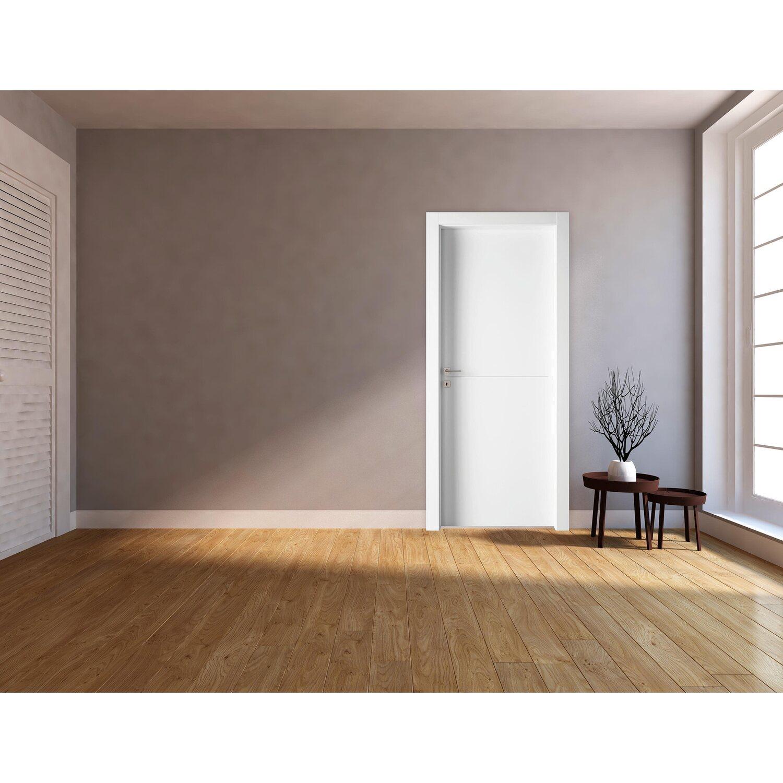 Verniciare Porte Interne Bianche porta a battente reversibile bali bianca 210 cm x 80 cm
