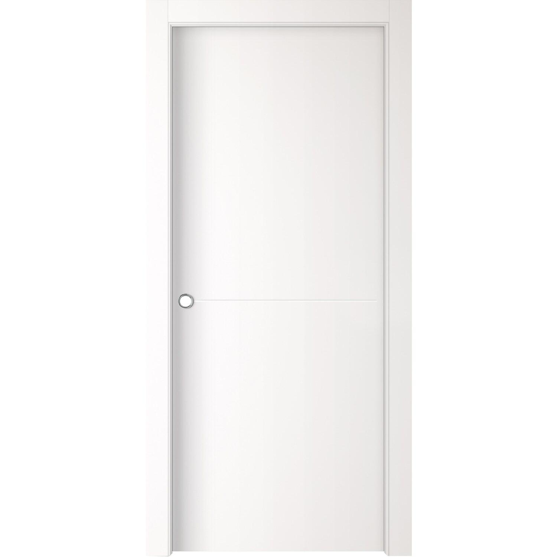Porta scorrevole reversibile bali bianca 200 cm x 60 cm - Obi porte da interno ...