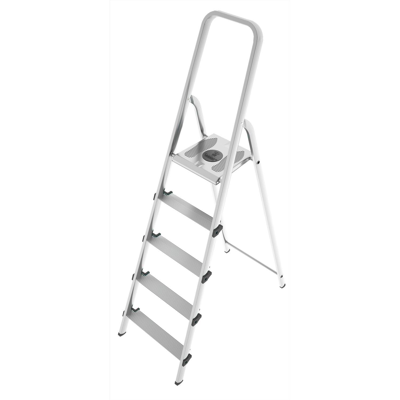 Altezza Gradini Scala scala stark acciaio-alluminio 5 gradini