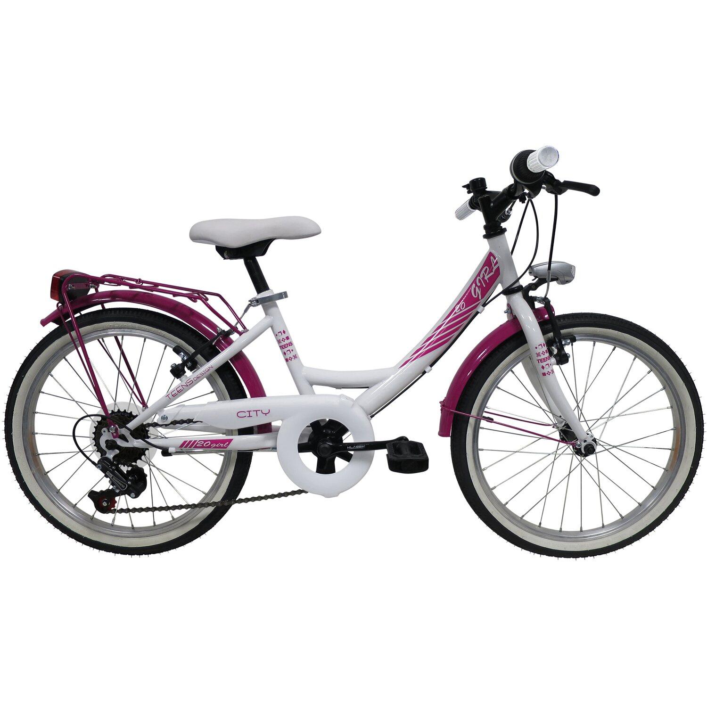 Bicicletta City Bike 20 Bambina
