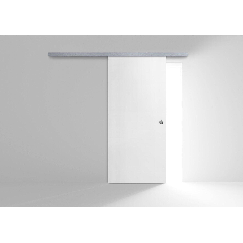 Porta Scorrevole Esterna Reversibile Ekla Ice 60 Cm X 210 Cm Obi