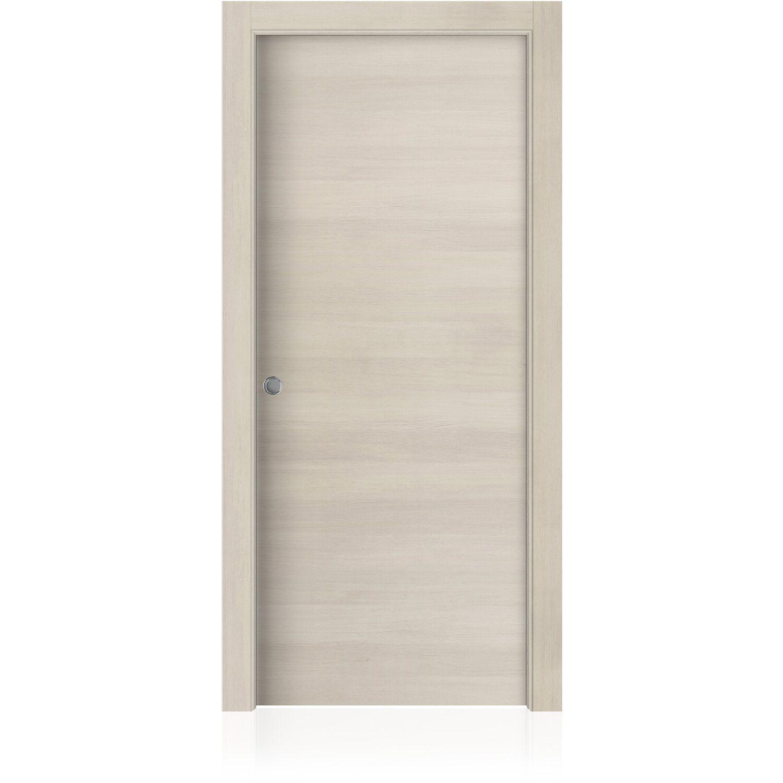 Porta scorrevole reversibile MAUI Larice Chiaro 90 cm x 200 cm