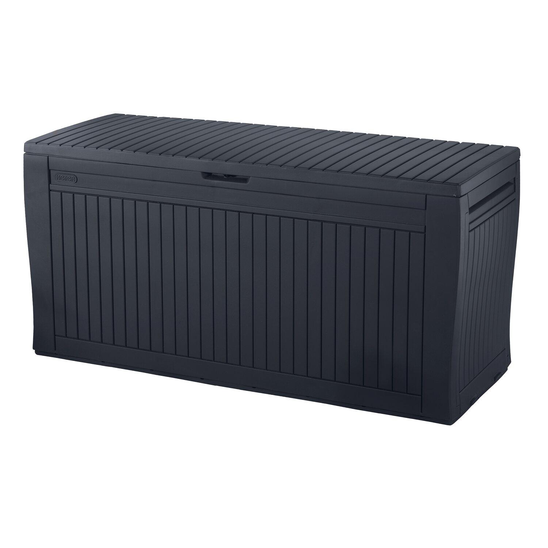 Armadietti In Plastica Portascope.Baule Comfy Storage Box Grigio