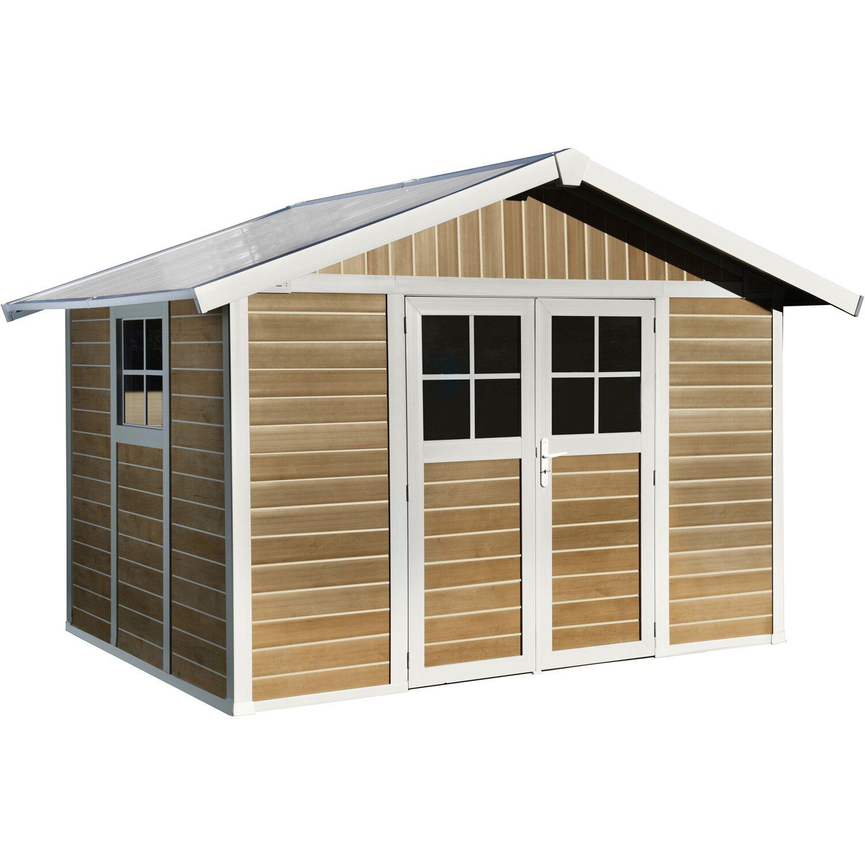 Casetta da giardino deco 7 5 m legno naturale acquista da obi for Casette in legno obi