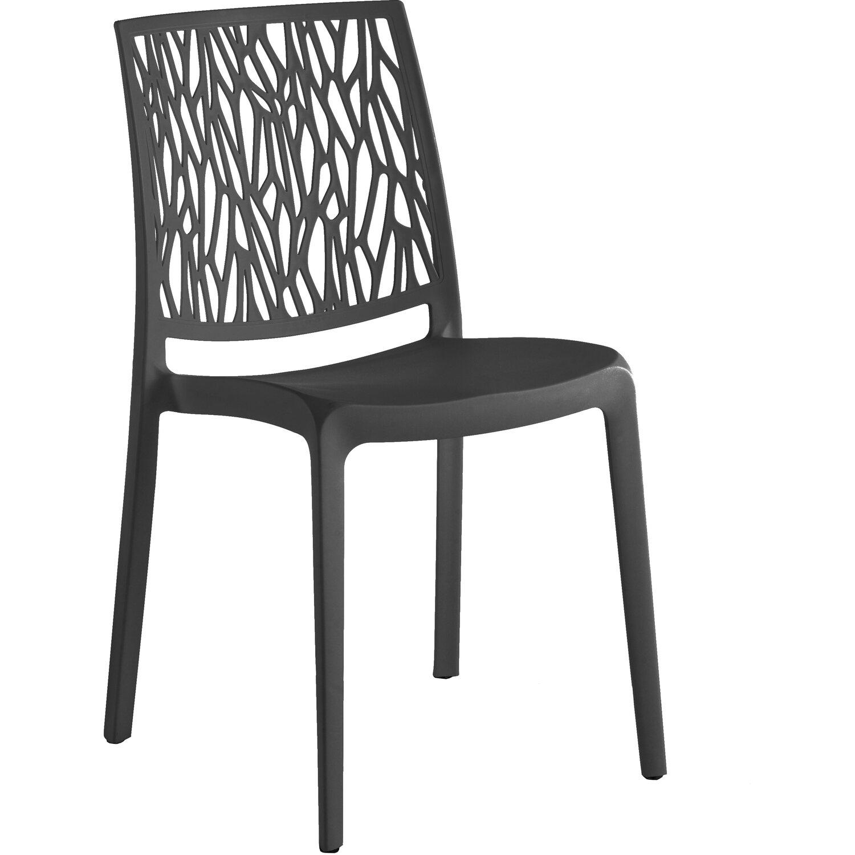 Set di 2 sedie LONDON TWIST in resina con fibra di vetro | OBI