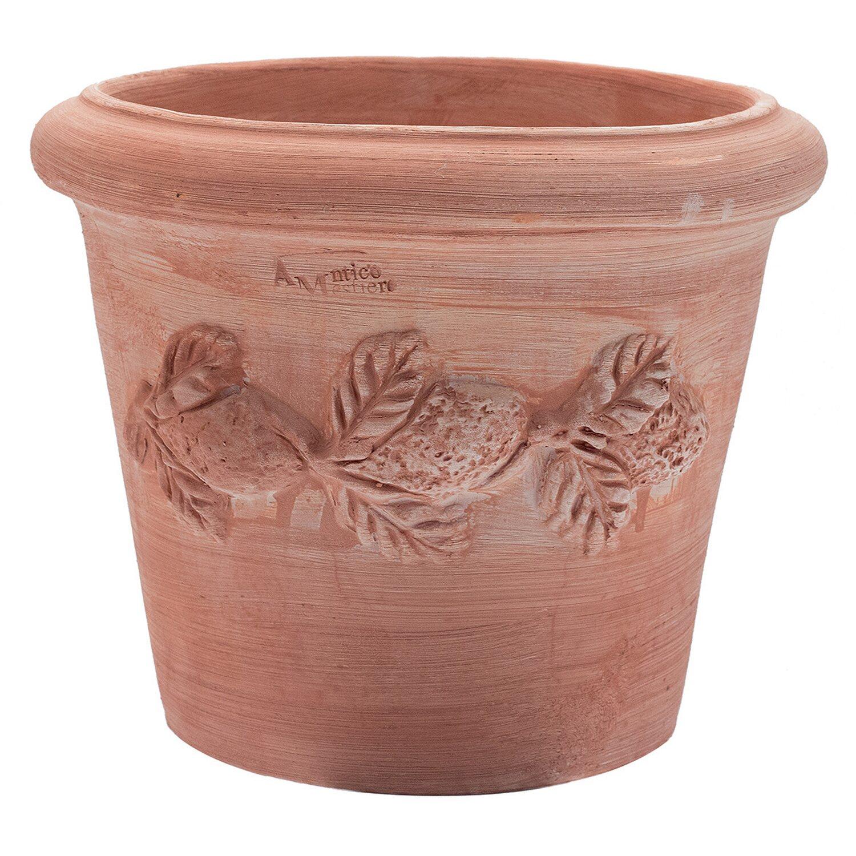 """Vasi In Terracotta Per Giardino vaso in terracotta toscano """"limoni"""" 25 cm"""