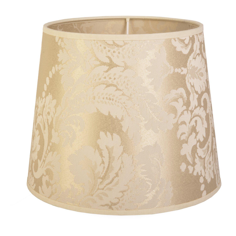 Paralume in tessuto barocco per lampada da tavolo E27 H 19,5 Ø24